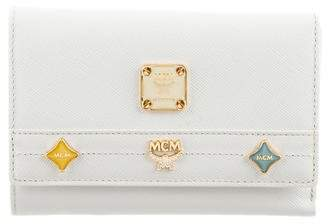 MCM Trifold Leather Wallet