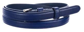 Prada Leather Thin Belt