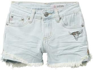 AG Jeans The Carmen Short Frayed Short (Big Girls)