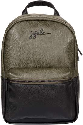 Ju-Ju-Be Ever Collection Mini Faux Leather Diaper Backpack