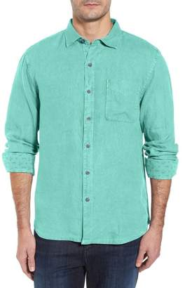 Tommy Bahama Seaspray Breezer Standard Fit Linen Sport Shirt