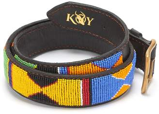 JUA Koy Clothing - Hand-Beaded Maasai Belt Wide