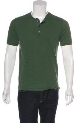 Vince Short Sleeve Henley T-Shirt