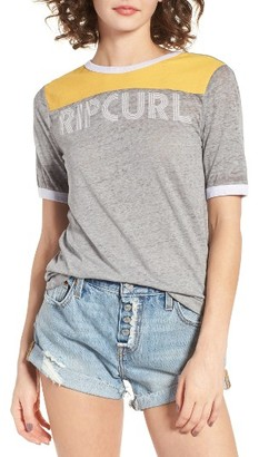 Women's Rip Curl Searching Ringer Tee $29.50 thestylecure.com