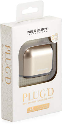 Merkury Innovations PLUG'D Metallic USB Wall Charger