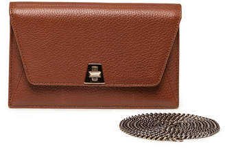 Akris Anouk Mini Leather Chain Envelope Clutch Bag