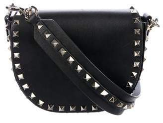 Valentino Rockstud Mini Saddle Crossbody Bag