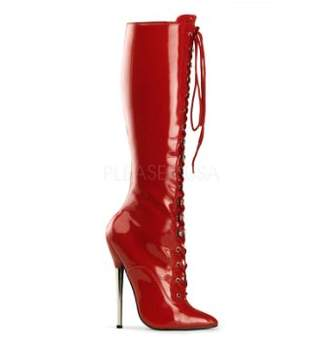 Pleaser USA Women's Dagger-2020 Knee-High Boot