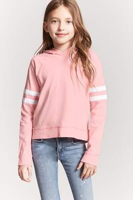 Forever 21 Girls Varsity-Stripe Top (Kids)