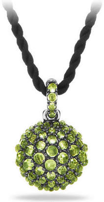 "David Yurman 20mm Osetra Faceted Pendant Necklace, 42"""