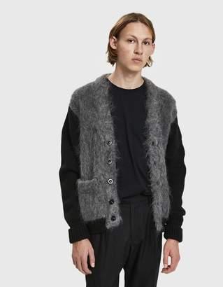 Maison Margiela Brushed Knit Cardigan