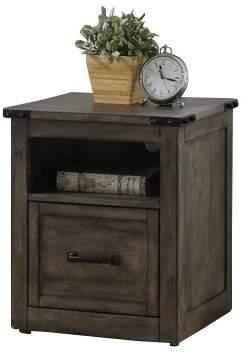 Gracie Oaks Jigna 1 Drawer Mobile Vertical Filing Cabinet