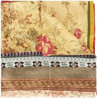 Pierre Louis Mascia Pierre-Louis Mascia patchwork print scarf