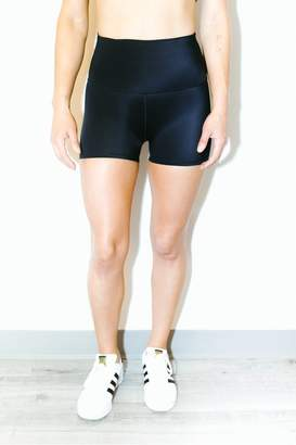 Atelier Fit High Waisted Shorts In Black