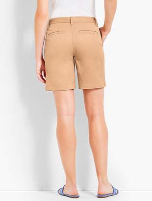 "Talbots 7"" Girlfriend Chino Short"
