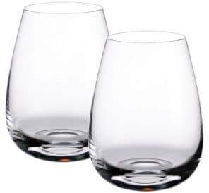 Villeroy & Boch Scotch Whiskey 4.75 Inch Highlands Whickey Tumbler Set Of 2
