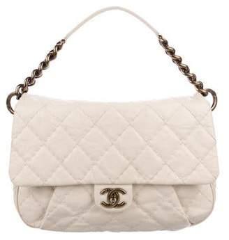 Chanel Medium Coco Pleats Messenger Bag