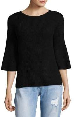 Lord & Taylor Petite Bell Sleeve Sweater