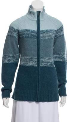 Patagonia ZIp-Up Wool Cardigan