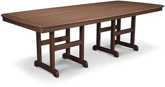 Polywood Nautical Dining Table - Brown