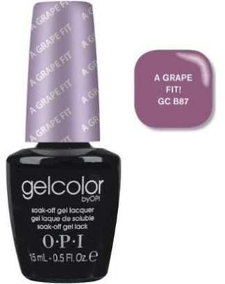 OPI Gelcolor Nail Polish, GCB87 a Grape Fit, 0.5 Fluid Ounce by