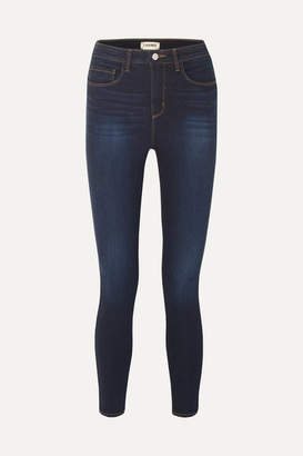 L'Agence Katerina High-rise Skinny Jeans - Dark denim