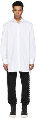D by D White Side String Shirt