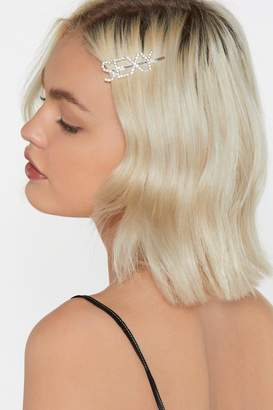 Nasty Gal Hey Sexy Diamante Hair Slide