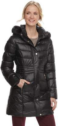 Gallery Women's Hooded Quilted Puffer Jacket
