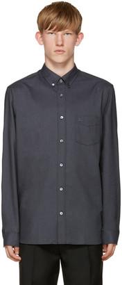 Burberry Blue Reagan Shirt $275 thestylecure.com