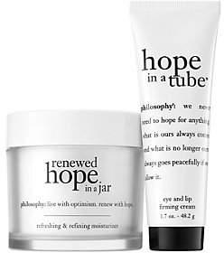 philosophy Choose Hope Renewed Hope In A Jar &hope In A Tube