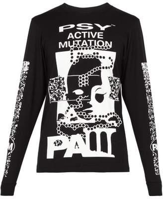 P.a.m. - Active Mutation Cotton T Shirt - Mens - Black