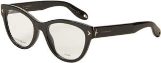 Givenchy GV 0012 Black Cat Eye Optical Frames
