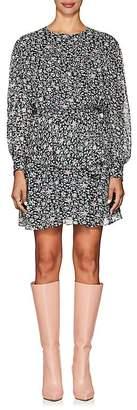 Etoile Isabel Marant Women's Java Silk Chiffon Minidress