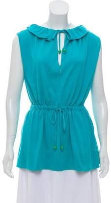 Fendi Sleeveless Knit Top