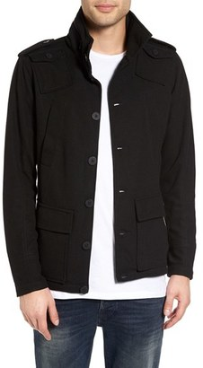 Kane & Unke Trim Fit Military Jacket $129 thestylecure.com