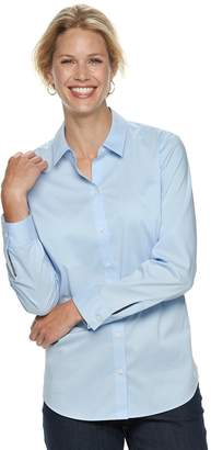 Croft & Barrow Women's Easy Care Shirt