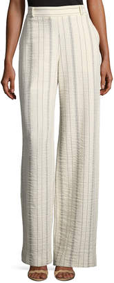 See by Chloe Vertical Stripe Four-Pocket Cargo Pants