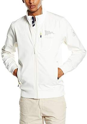 Gaastra Men's Blouse Long Sleeve Jacket Off-White Elfenbein (Off White A23)