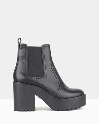 betts Silent Chunky Platform Ankle Boots