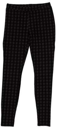 Joie Mid-Rise Plaid Leggings