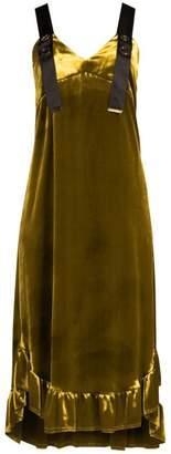 Mother of Pearl Florence Velvet Dress