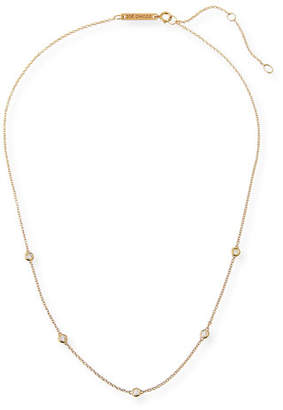 Chicco Zoe 14k Floating Diamond Station Necklace