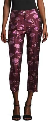 Manoush Women's Brocard Roses Pants