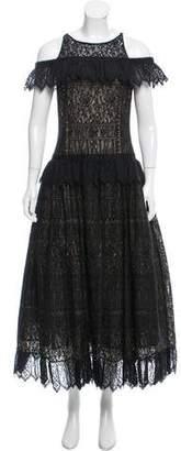 Chloé Lace Evening Dress