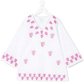 Elizabeth Hurley Kids embroidered kaftan