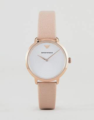 Emporio Armani AR11160 Leather Watch 32mm