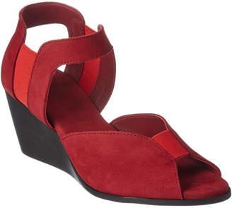 Arche Egery Nubuck Wedge Sandal