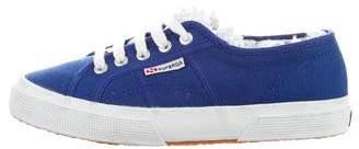 Superga Cotu Lace-Trim Sneakers
