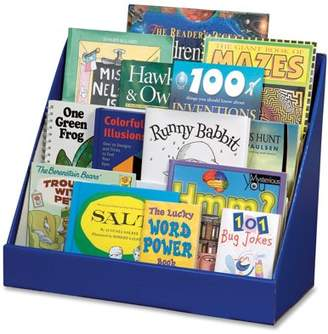 Classroom Keepers Kids Book Rack, 3-Tier, Blue with Glossy Finish